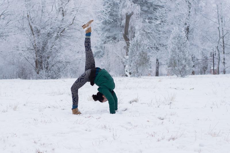 Yoga winter
