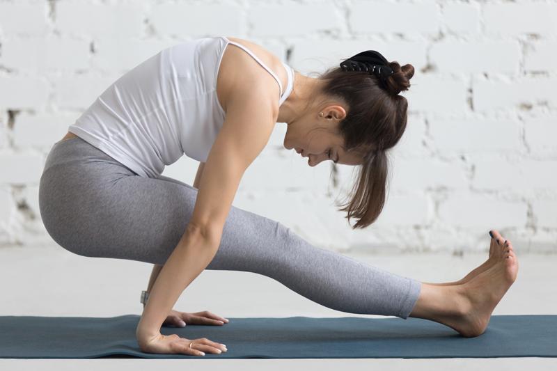 Yoga reduce abdominal
