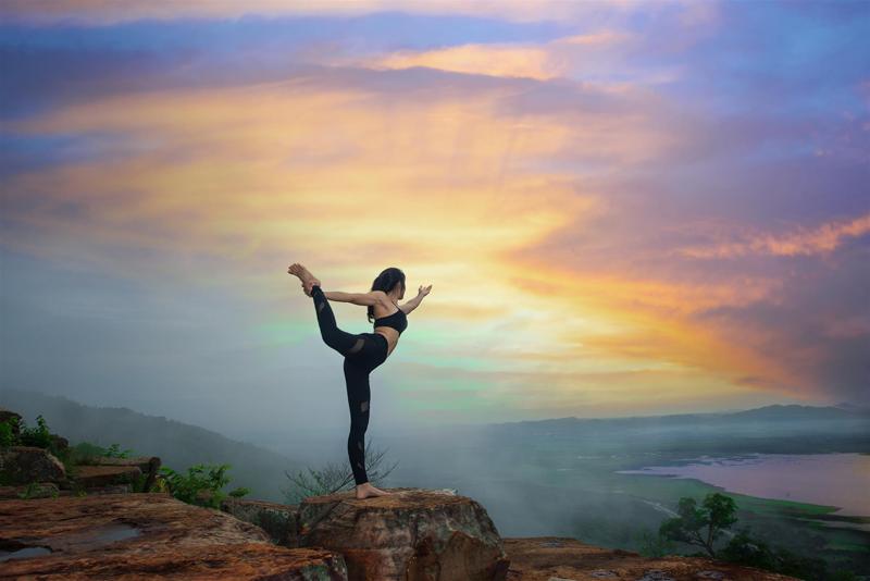 yoga climbers