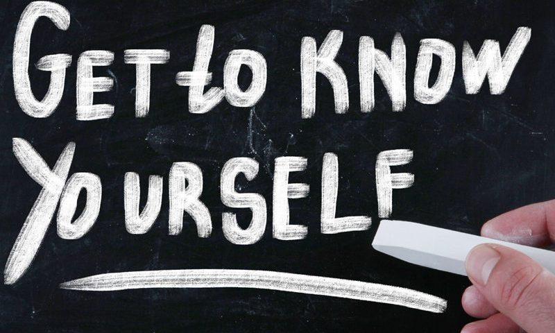Sich selbst kennenlernen