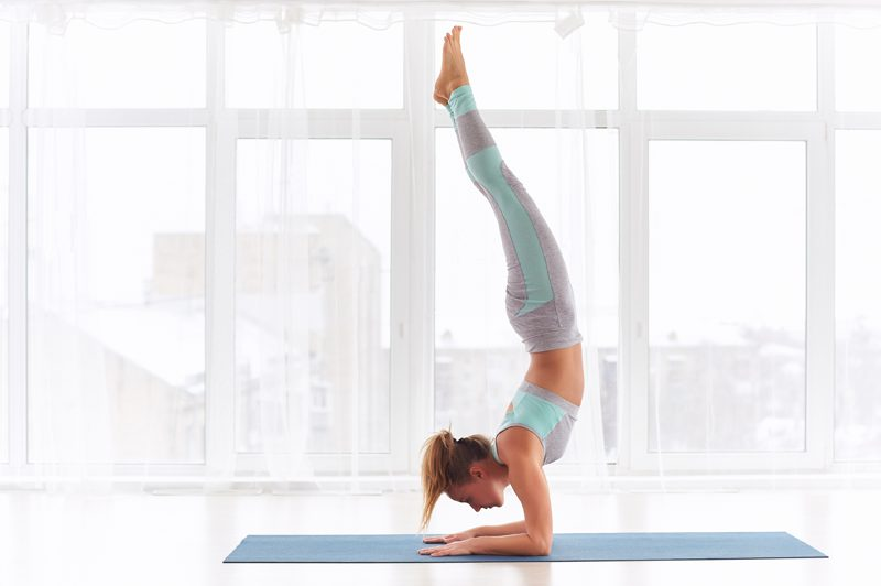 Yoga postures respiratoire