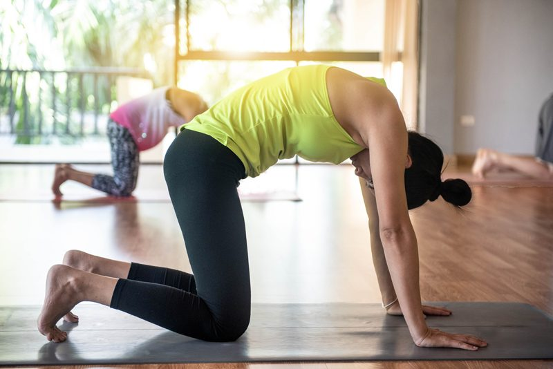 Yoga set intentions
