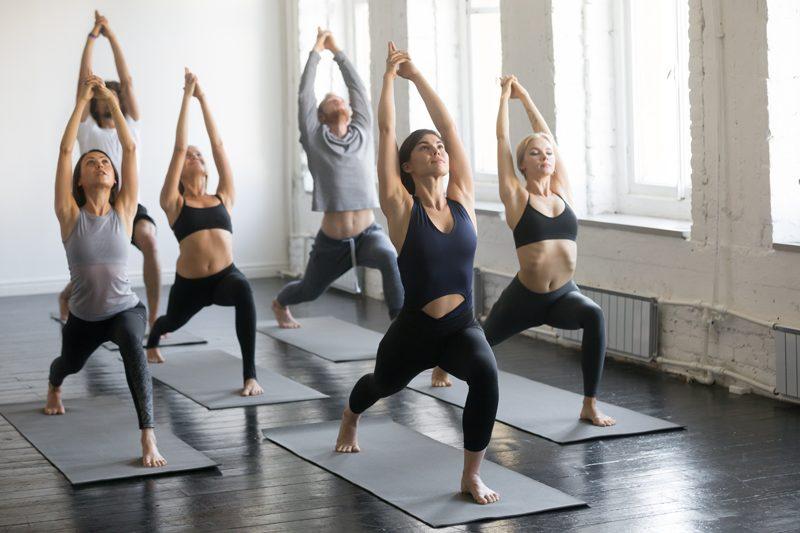 Yoga first class