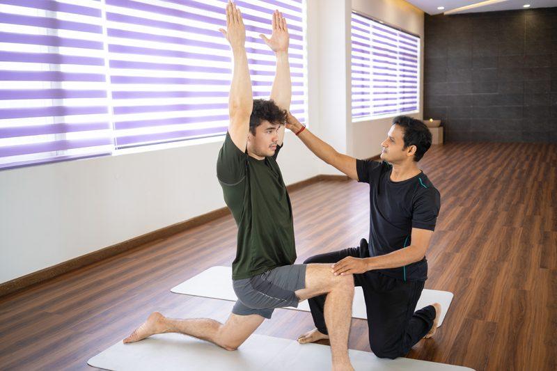 Männer-Yoga für Anfänger