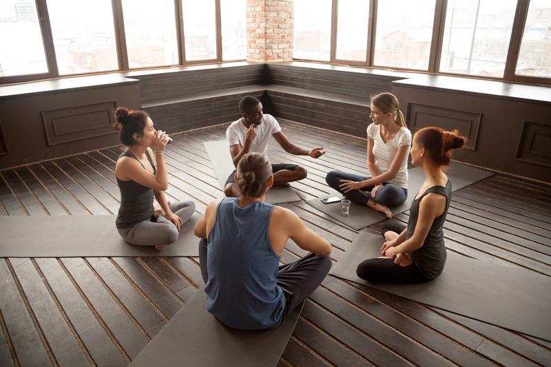 Yoga für verbesserte Kommunikation